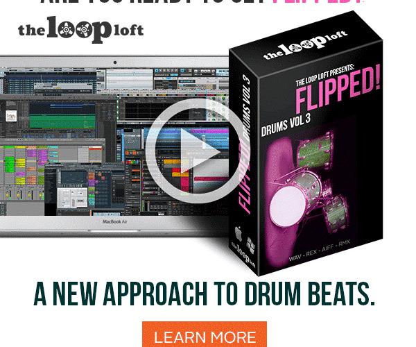 The Loop Loft Flipped Drums Bundle feat