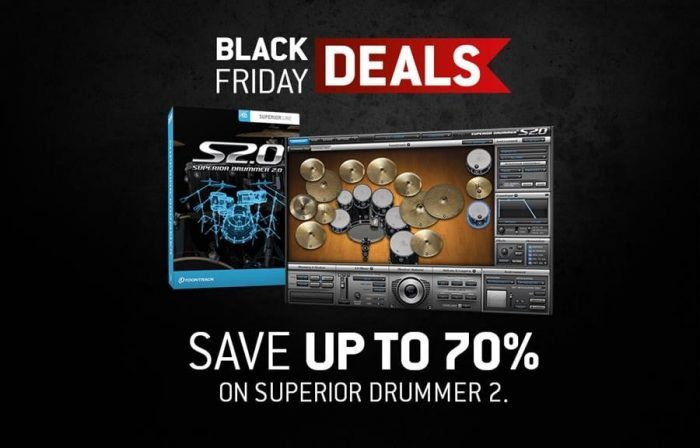 Toontrack Black Friday Superior Drummer 2
