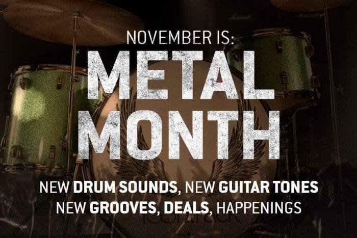 Toontrack Metal Month