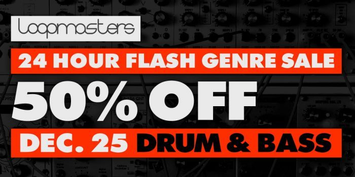 Drum & Bass Flash Sale