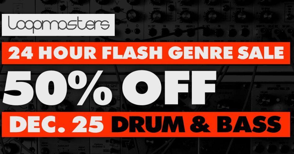 Drum & Bass Flash Sale