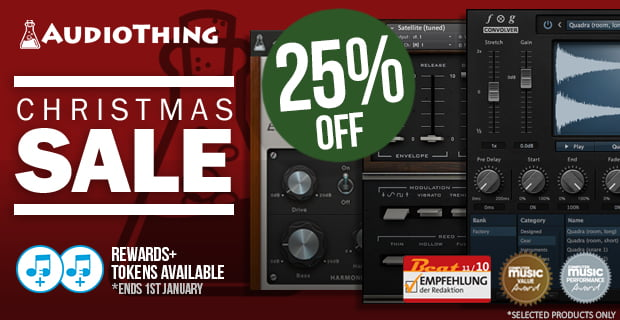AudioThing Winter Sale