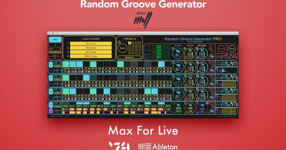 Audiomodern Random Groove Generator PRO feat