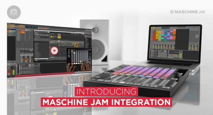 Bitwig Maschine JAM intergration