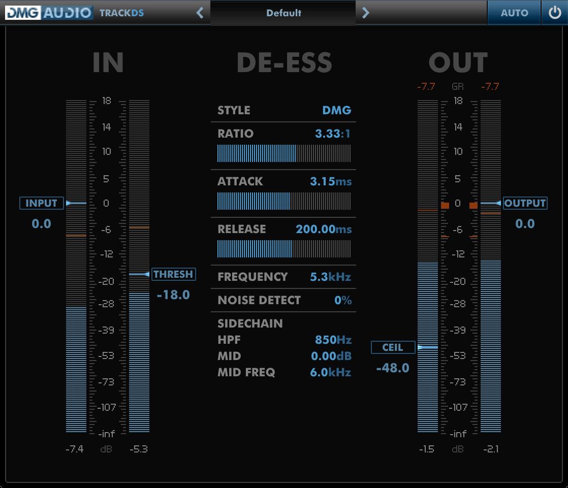 DMG Audio TrackDS
