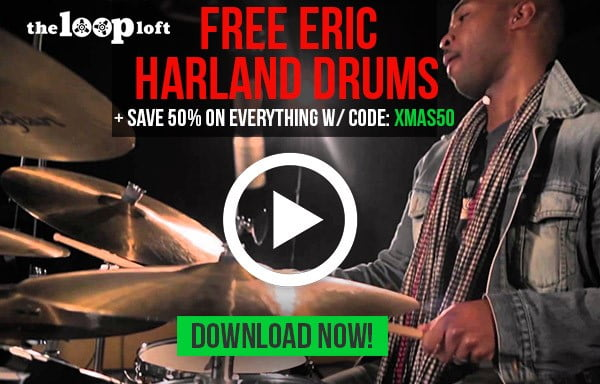 Free Eric Harland Drums