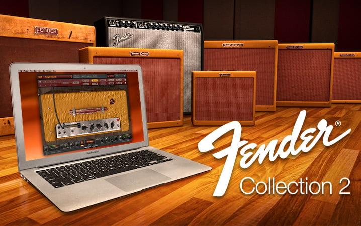 IK Multimedia Fender Collection 2 for AmpliTube feat