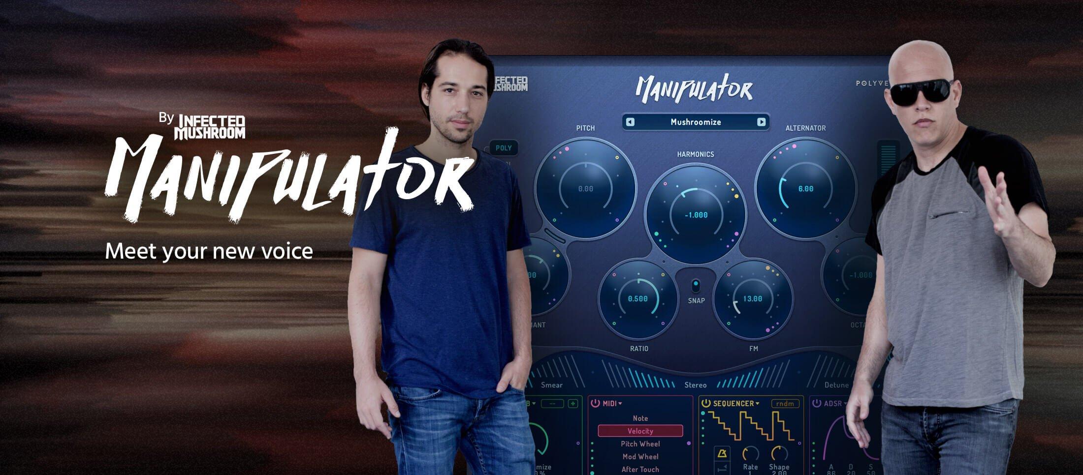 polyverse infected mushroom manipulator v0.904 win/mac вокально-преобразующий процессор