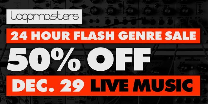Loopmasters Live Music Sale