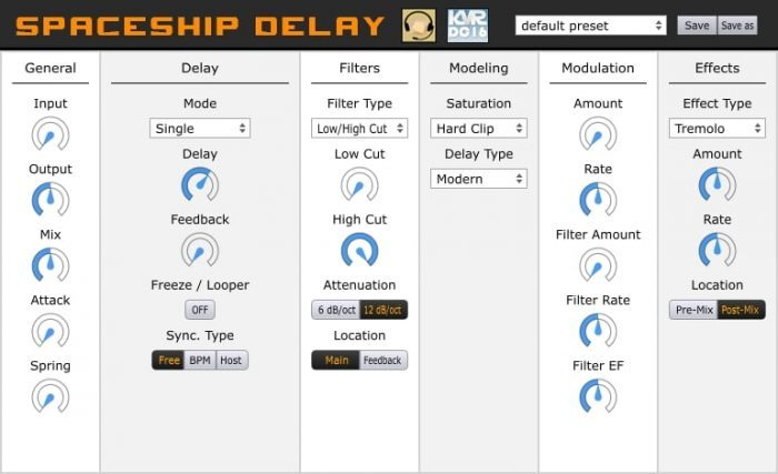 Musical Entropy Spaceship Delay