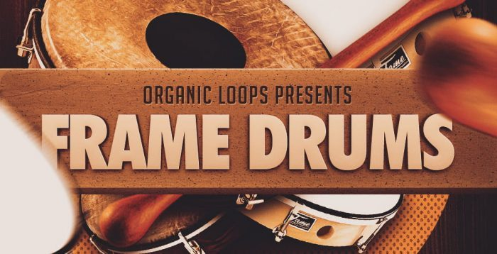 Organic Loops Frame Drums