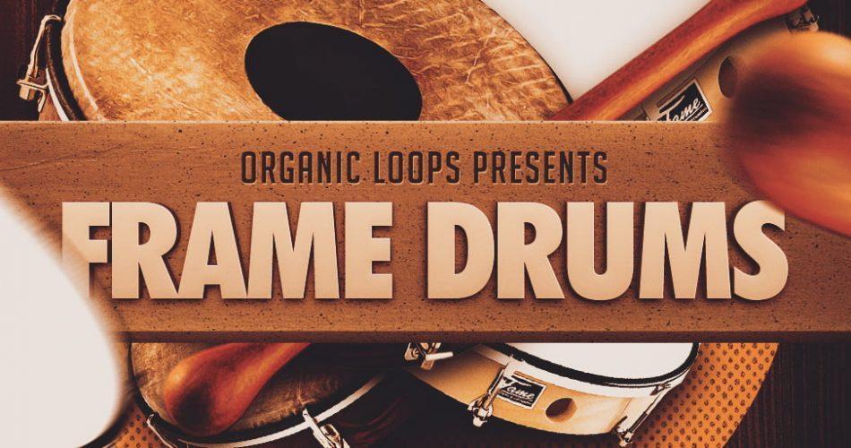 Organic Loops Frame Drums