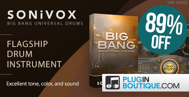 PIB Sonivox Big Bang Universal Drums 2 sale
