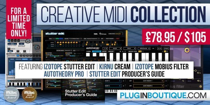Plugin Boutique Creative MIDI Collection