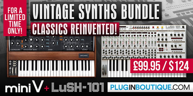 Plugin Boutiuqe Vintage Synths Bundle