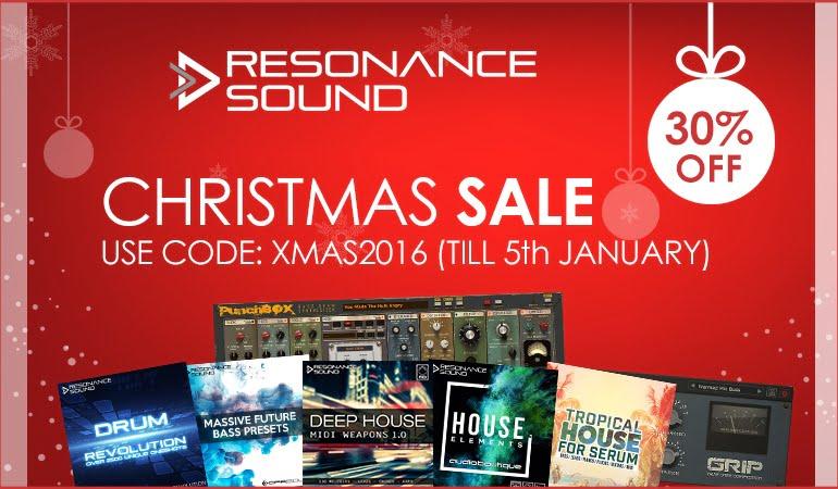 Resonance Sound Christmas Sale 2016