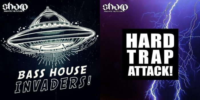 SHARP Bass House Invaders! and Hard Trap Attack!