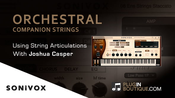 Sonivox Orchestral Companion Strings articulations tutorial