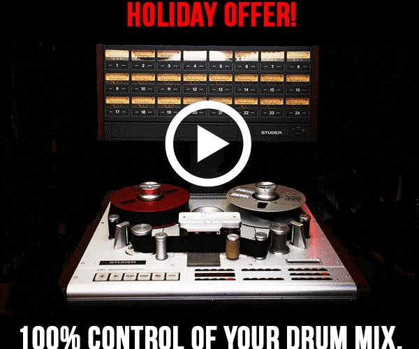 The Loop Loft Multitrack Drums Holiday Sale