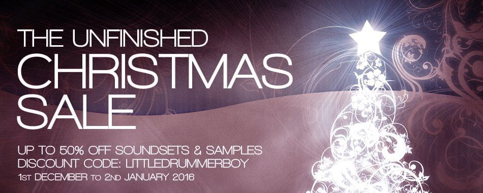 The Unfinished 2016 Chrismtas Sale