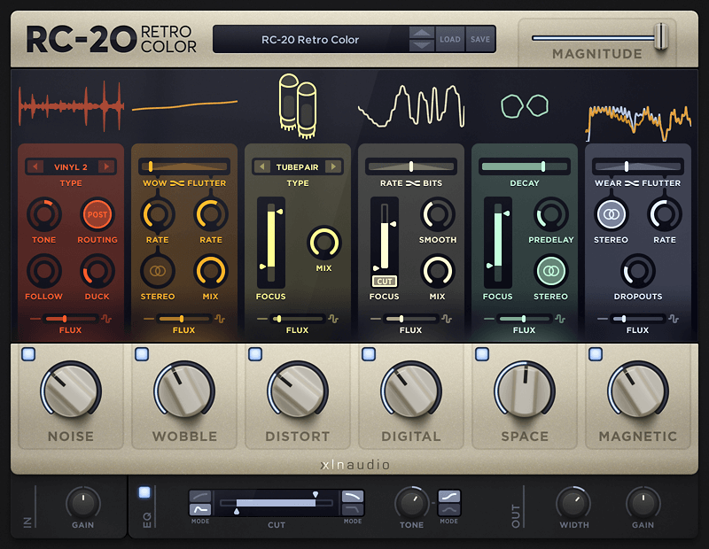 Xln Audio Rc 20 Retro Color Adds Life Amp Texture To Sounds