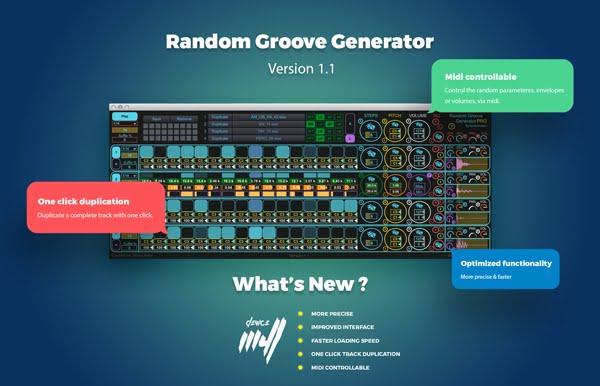 Audiomodern Random Groove Generator 1.1