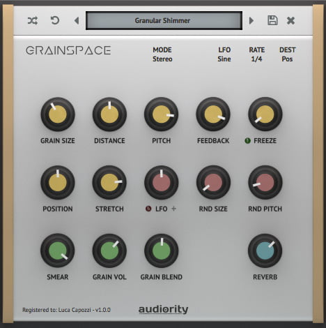 Audiority GrainSpace