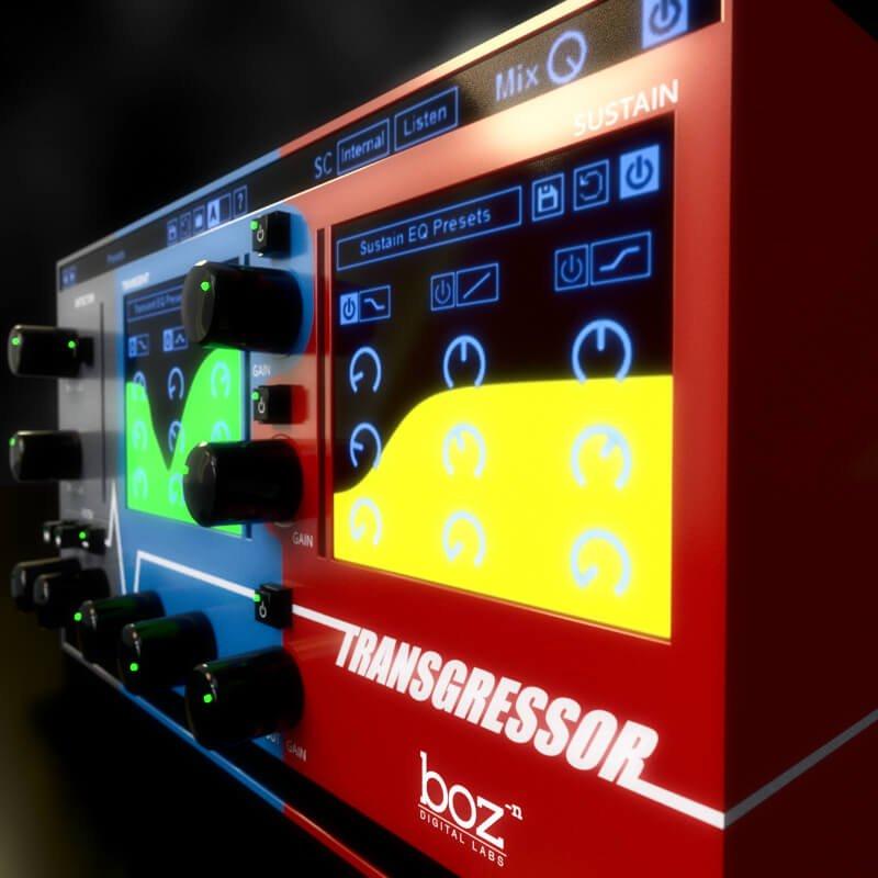 transgressor transient designer plugin by boz digital labs. Black Bedroom Furniture Sets. Home Design Ideas