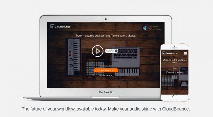 CloudBounce website screenshot