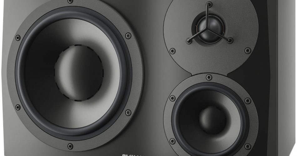Dynaudio PRO LYD48 Front Angled Black