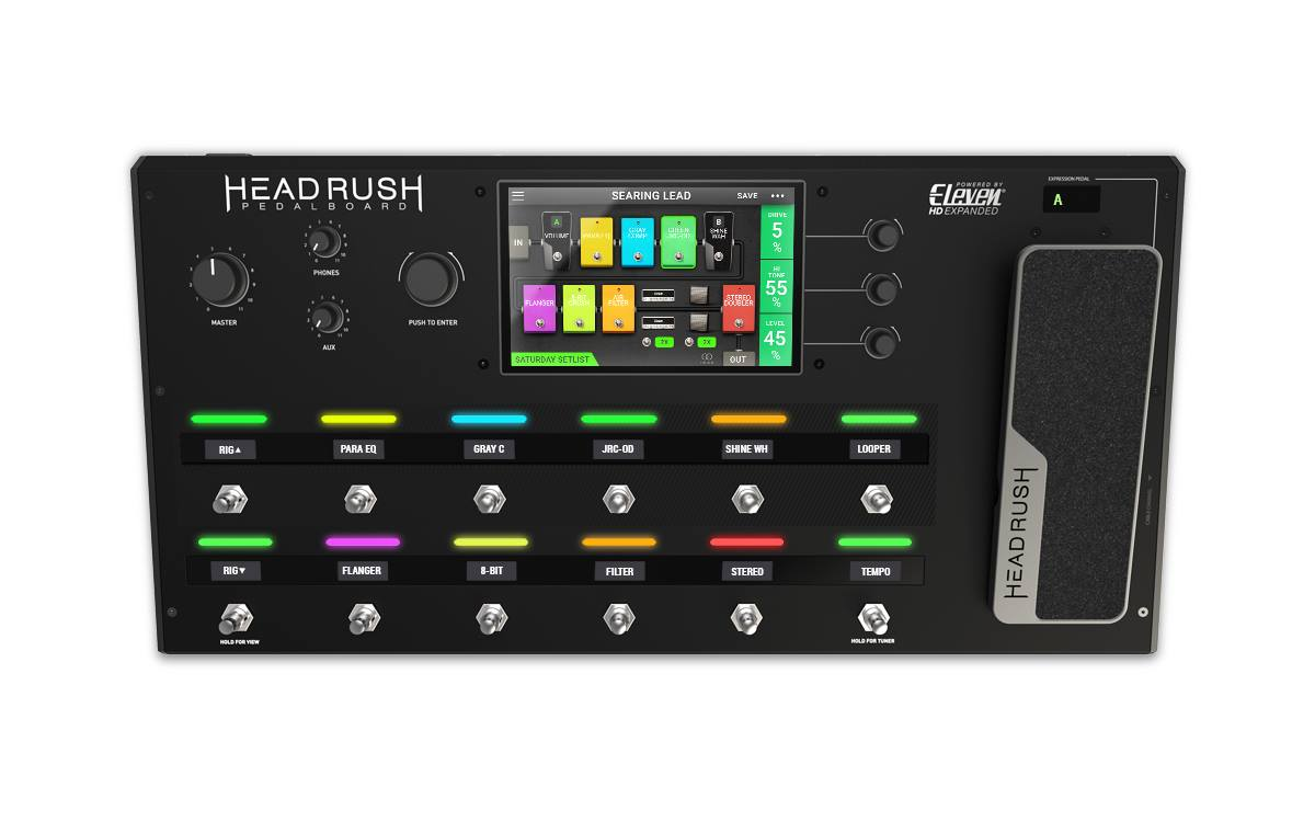 Headrush Pedalboard Guitar Amp And Fx Modeling Processor