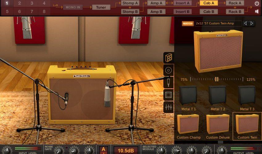 IK Multimedia Fender Collection 2 for AmpliTube screen
