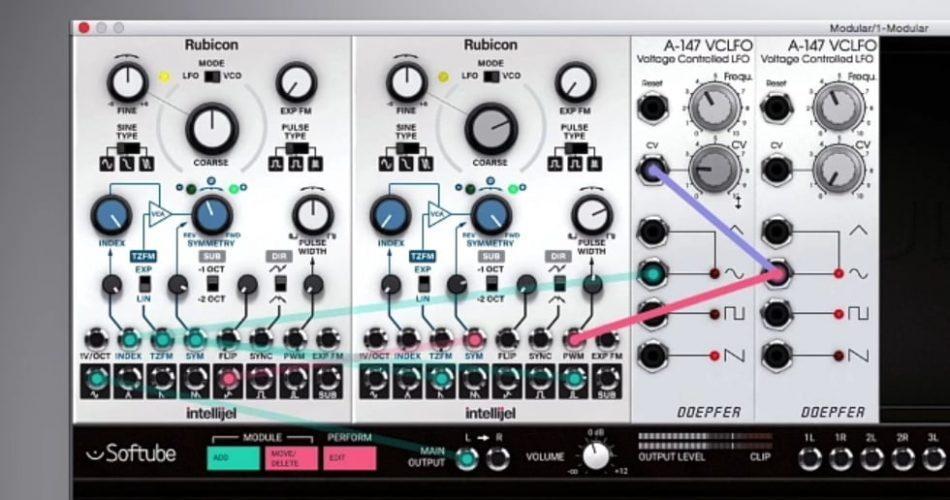 Intellijel Rubicon virtual Eurorack module Show & Reveal
