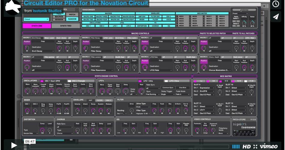 Isotonik Studios Circuit Editor PRO