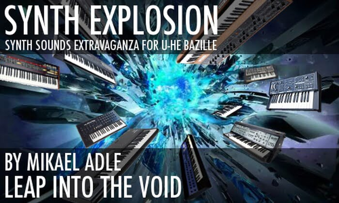 Leap Into The Void Synth Explosion for Bazille feat
