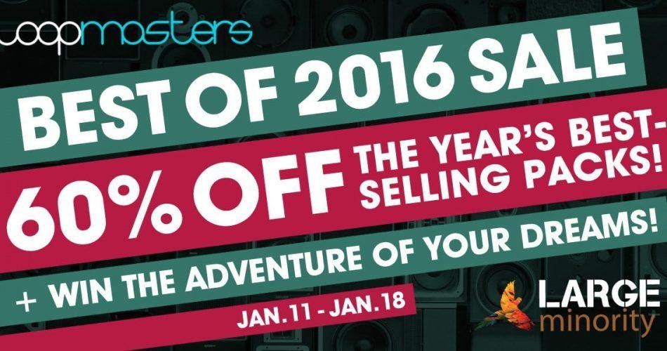 Loopmasters Best Of 2016 Sale
