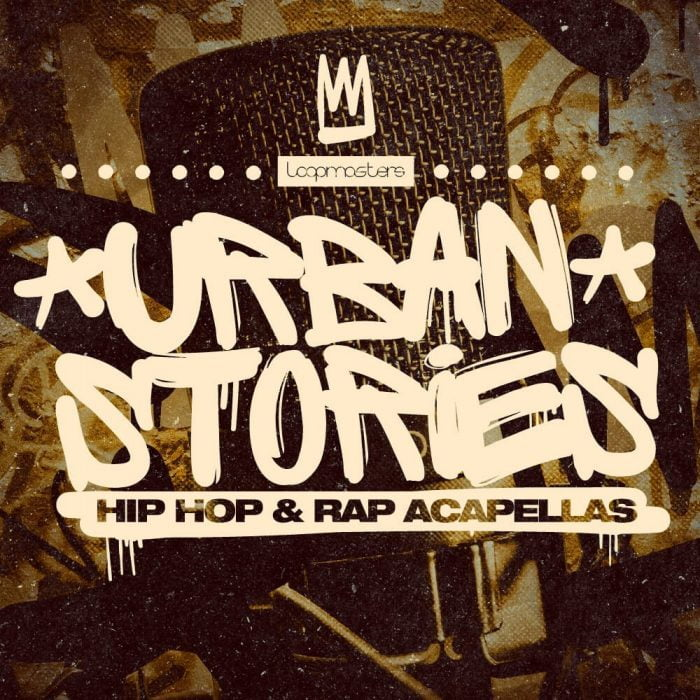 Loopmasters Urban Stories Hip Hop & Rap Acapellas