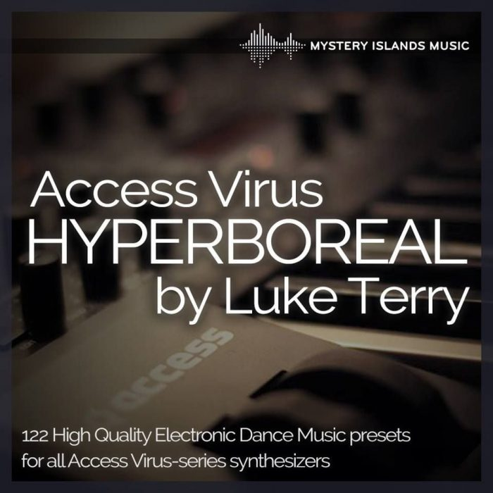Mystery Islands Music Access Virus Hyperboreal by Luke Terry