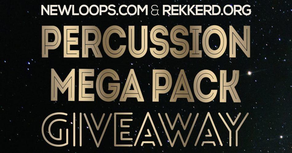 New Loops Mega Percussion Giveaway