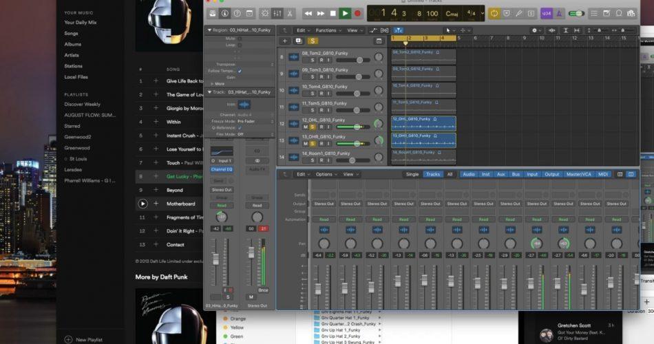 Omar Hakim Drums Mixing Video