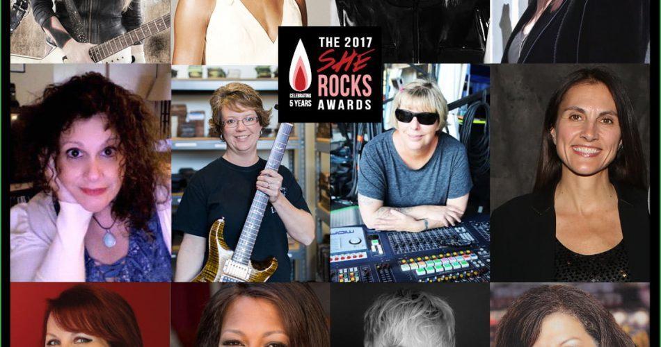 She Rocks Awards at NAMM 2017
