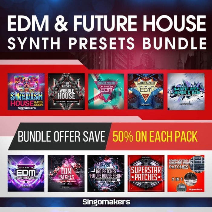 Singomakers EDM & Future House Synth Presets Bundle