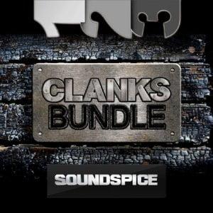 SoundSpice Clanks Triple Bundle
