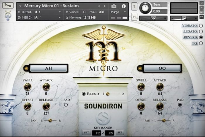 Soundiron Mercury Micro