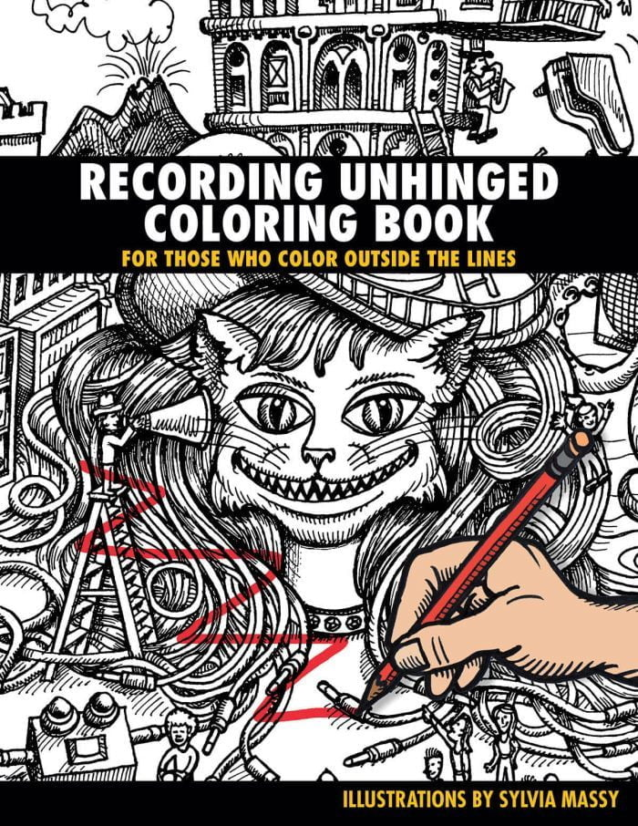 Sylvia Massey Recording Unhinged Coloring Book