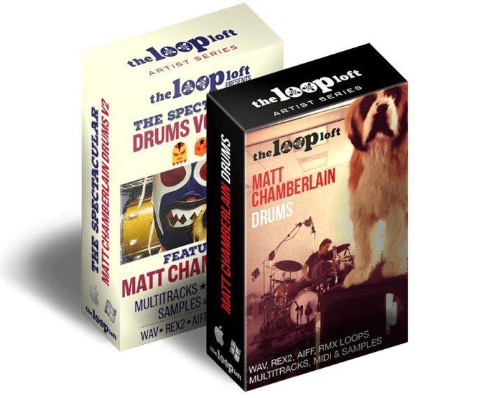 The Loop Loft Matt Chamberlain Drums Bundle