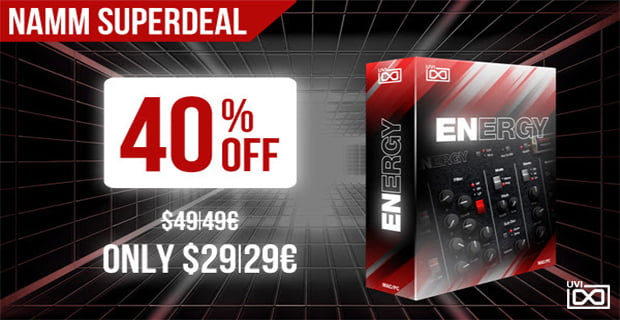 UVI Energy NAMM Superdeal