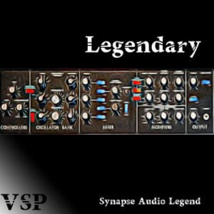 Vintage Synth Pads Legendary for Synapse Audio Legend