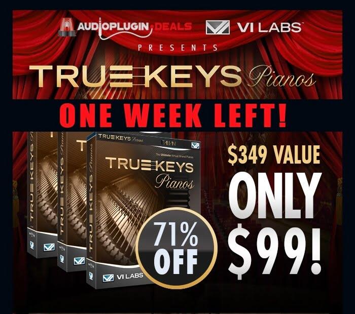 Audio Plugin Deals True Keys
