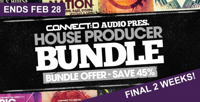 CONNECTD Audio House Producer Bundle